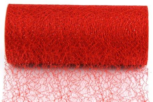 Kel-Toy Sparkle Mesh Craft Fabric, 6-Inch by 10-Yard, - Yard Dress 10 Fabric