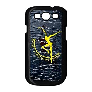 KOKOJIA - Dave Matthews Band Fire Dancer Hard Plastic Back Cover Case for Samsung Galaxy S3 SIII [Black / White] -LCS3U650