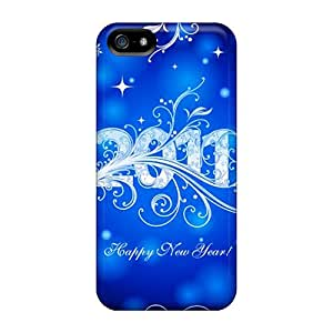 New Style OliviaDay Hard Case Cover For Iphone 5/5s- Happy New Year