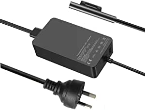 65W Power Adapter Charger for Microsoft Surface Pro X Pro 7 Pro 6 Pro 5 Pro 4 Pro 3 with Wall Plug and 6ft Power Cord