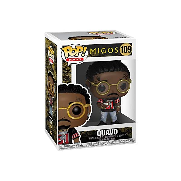 Funko Pop! Rocks: Migos - Quavo, Multicolor 2