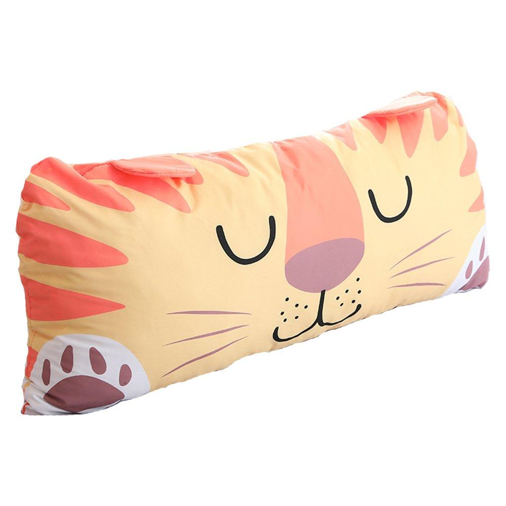 MARUKQW Super Soft Cartoon Children's Sleep Lion Pillow 28x12 inch With Zipper