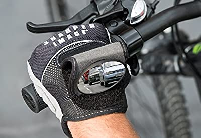 Sharper Image Rearview Mirror Cycling Gloves