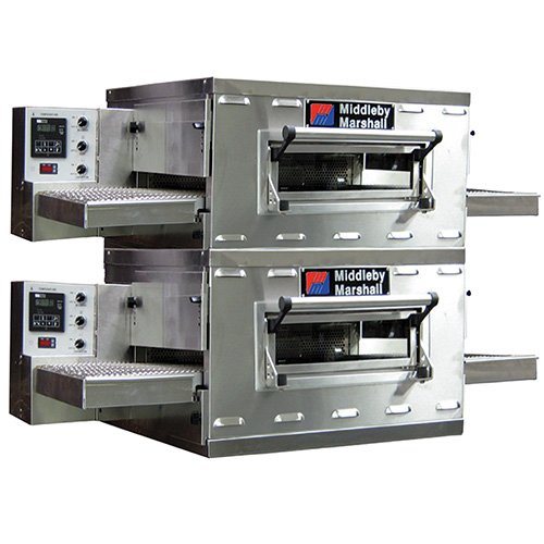 Middleby Marshall PS528G Countertop Conveyor Oven, Gas, Double ()