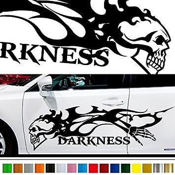 Skull car sticker car vinyl side graphics 157 car vinylgraphic custom stickers decals
