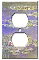 Art Plates - Monet: Water Lilies Switch Plate - Outlet Cover