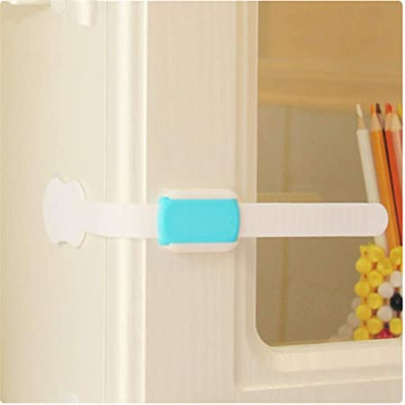 Plastic Drawer Cabinet Locks Baby Safety Protection For Children Child Lock