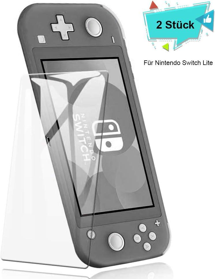 ECHTPower Protector de Pantalla para Nintendo Switch Lite Cristal Templado(HD/5,5