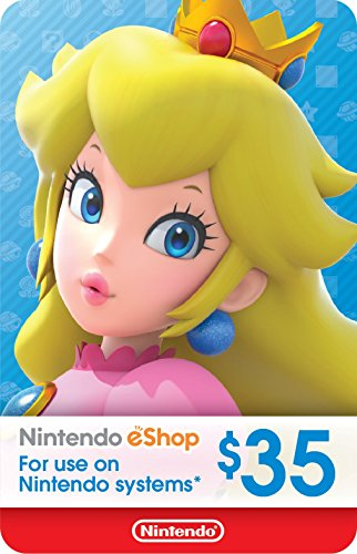 Wii Points Card Code - eCash - Nintendo eShop Gift Card $35 - Switch / Wii U / 3DS [Digital Code]