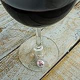 Bon Jovi Mom Needs Wine and Jovi Wine Glass Charm