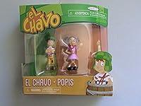 El Chavo 2.75 Inch Figure 2-Pack El Chavo & Popis