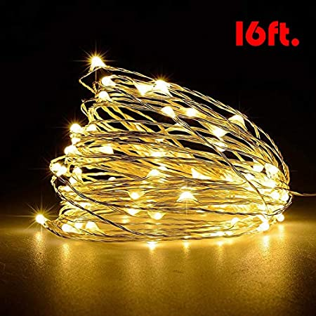 1-10M USB LED Copper Wire String Fairy Light Strip Lamp Xmas Party Waterproof BY