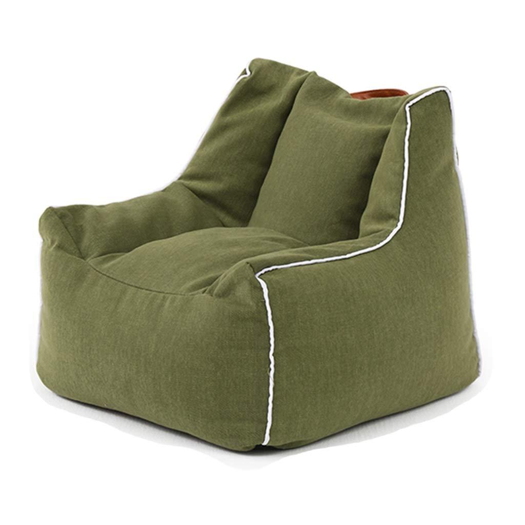 ベビーソファ 豆は携帯用抱擁の椅子の洗濯できる赤ん坊のソファーの子供の寝室の家具を袋に入れます (Color : Green, Size : 50*45*52cm) 50*45*52cm Green B07T23KHYH