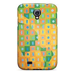 Galaxy S4 Case Cover Squares Case - Eco-friendly Packaging