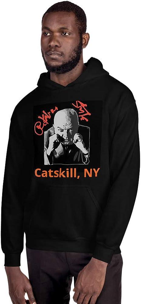 GoodtoGo Designs Boxing Cus DAmato Peekaboo Style Catskill NY Mike Tyson Hoodie Black