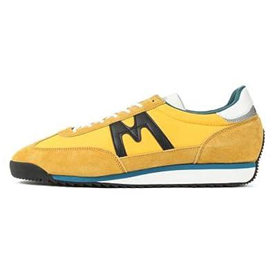9e67579ae8c Karhu Sneaker Modello Champion Air in Suede e Nylon Giallo  Amazon.it  Scarpe  e borse