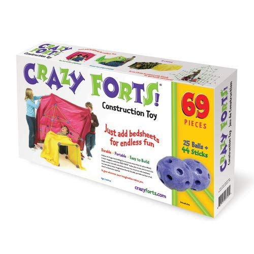 Crazy Forts, Purple, 69 Pieces