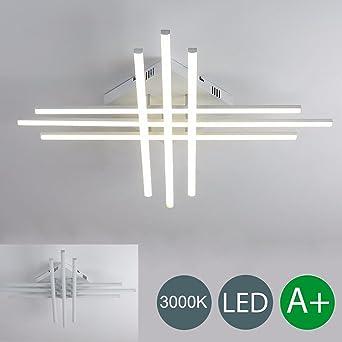 LED Deckenleuchte Wohnzimmer Modern Kreativ Lampe Eckig Design ...