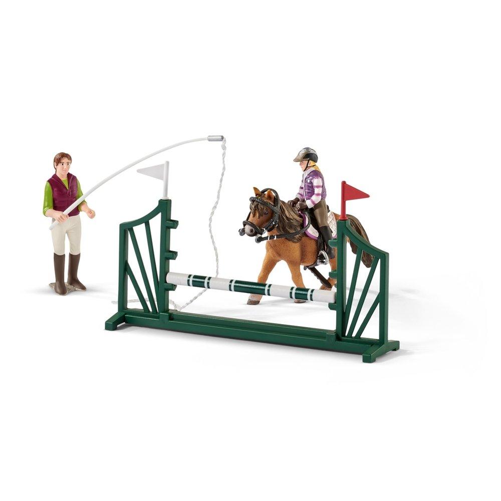 Schleich Horse Club Reitschule mit Reiterinnen und Pferden