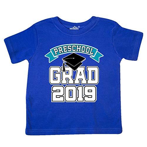 inktastic - Preschool Graduation 2019 Toddler T-Shirt 5/6 Royal Blue 33dd6 ()