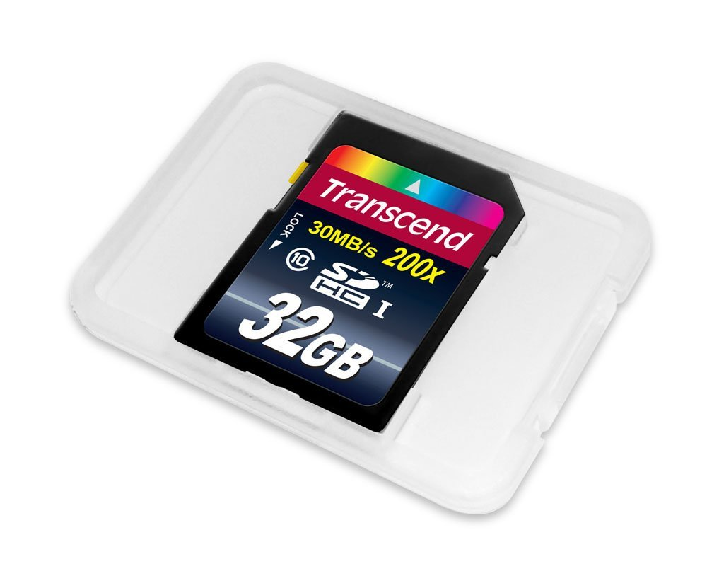 Amazon.com: Transcend 32 GB Class 10 SDHC Flash Memory Card ...