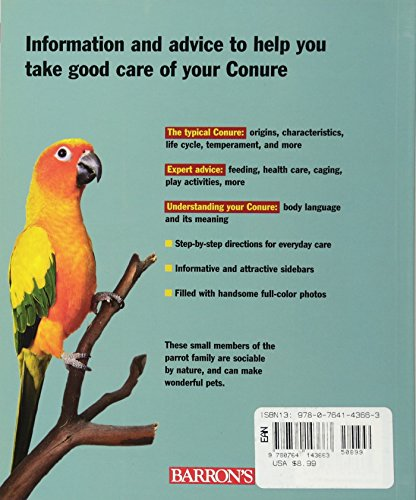 Conures (Complete Pet Owner's Manual) 2