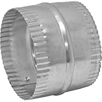 Lambro 246 Galvanized Duct Connector for Flexible Aluminum Duct, 6 (Pack of 6) by Lambro Industries