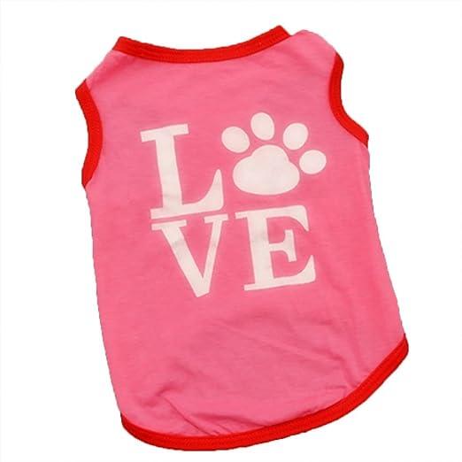 0726afe2e Amazon.com  Woaills Puppy Dog Cat Clothes