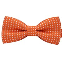 Amajiji Colorful Polka Dots Pre-Tied Bow Ties, Adjustable Bowtie Pet Dog Cat