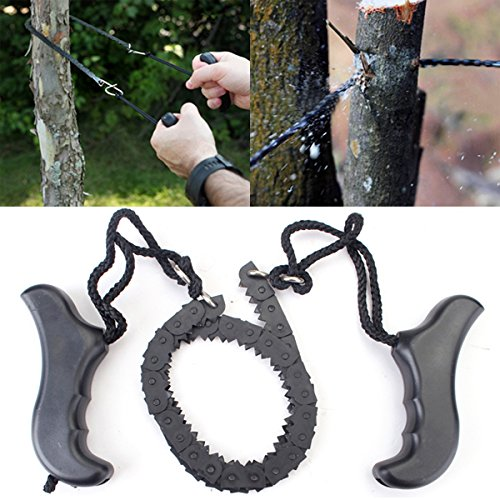 Garden Steel Alloy Trimming Saw Outdoor Portable Hand Chain Saw