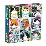 Mudpuppy Bookish Cats Family Puzzle, 500