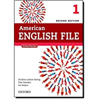 American English File: Level 1 Student Book Pack