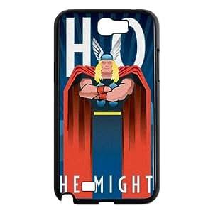 Samsung Galaxy N2 7100 Cell Phone Case Black_Thor Noir Wqduy