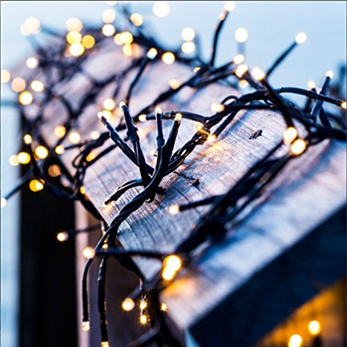 Solar String Lights,Goodia 72.5ft 22m 200 LED Ambiance lighting for Outdoor,Patio,Lawn,Landscape,Fairy Garden,Home,Wedding,Holiday,Christmas Party,Xmas Tree,Waterproof (Outdoor Halloween Lighting)
