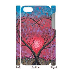 Love Tree DIY 3D Cover Case for Iphone 4,4S,personalized phone case ygtg595503
