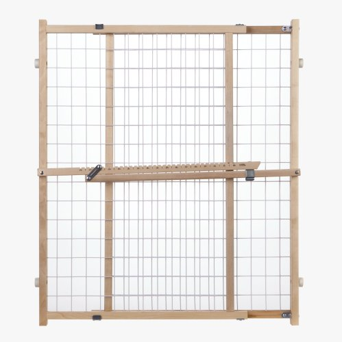 North States Supergate Extra Wide Wire Mesh Gate - Mesh Gate