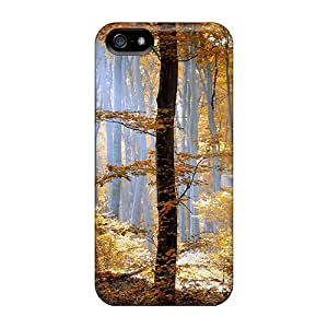 Cute High Quality Iphone 5/5s Sunshine In The Forest Case