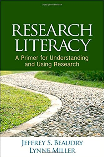 Book cover: research literacy: a primer for understanding and using research