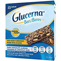 Glucerna Glucerna Bars, Dark Chocolate Almond, 40g, 6-pack 6 Count
