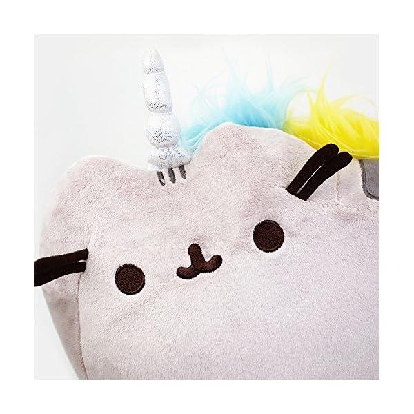 """GUND Pusheenicorn Plush Stuffed Animal Rainbow Cat Unicorn, 13"""" 8"""