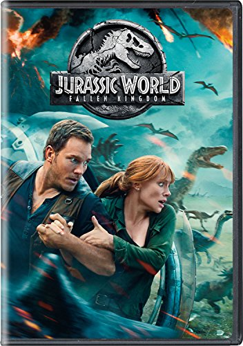 Chris Pratt (Actor), Bryce Dallas Howard (Actor), J.A. Bayona (Director) | Rated: PG-13 (Parents Strongly Cautioned) | Format: DVD (1645) Release Date: September 18, 2018   Buy new: $14.12 28 used & newfrom$10.75