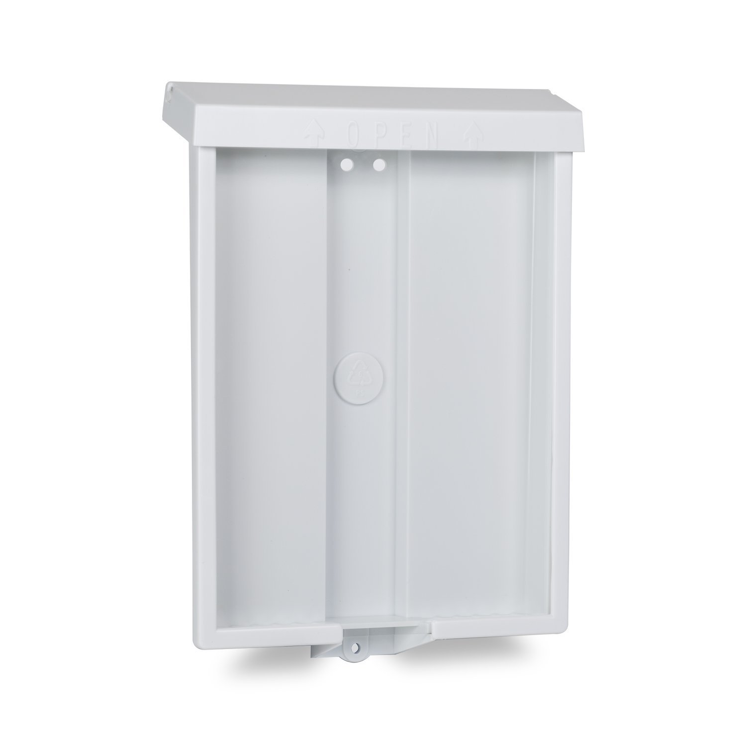 Source One Outdoor Realtor Style Brochure Holder Color Variety White or Black Options Available (6 Pack, White) by SOURCEONE.ORG (Image #1)