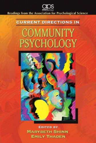 Current Directions in Community Psychology for Community Psychology
