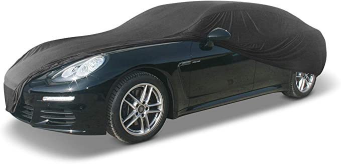 EMMEA Telo Copri Auto Felpato Compatibile con Porsche Panamera 09  16 COPRIAUTO Cover Impermeabile Anti Strappo Lavabile E AntiGraffio