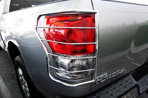 Steelcraft 33317 07-13 TOYOTA TUNDRA TAILLIGHT GUARDS S/S Tail Light Guards