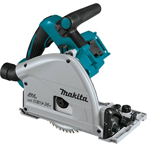 Makita XPS02ZU 18V X2 LXT Lithium-Ion 36V Brushless Cordless 6-1 2 Plunge Circular Saw, with AWS, Tool Only