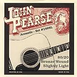John Pearse 160SL Acoustic 80/20 Bronze Wound, Slightly Light
