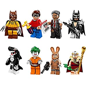 Shalleen 8pcs Superheroes Dick Grayson Glam Metal Batman Minifigures Blocks Toys