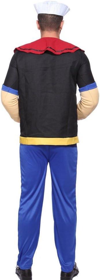 shoperama Hombre Disfraz de Popeye el Marineros Comic Carnaval ...