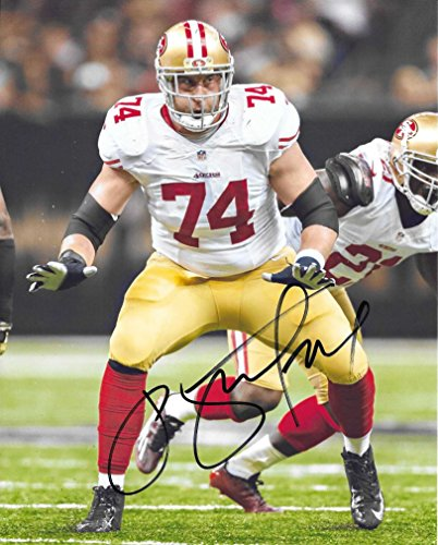 - Joe staley, San Francisco 49ers, Signed, Autographed, 8X10 Photo, a COA with the Proof Photo of Joe Signing Will Be Included-